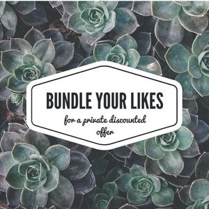 ☀️ Bundle your likes for great offers☀️